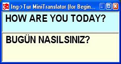 ingTur Mini Translator (Çevirmen)
