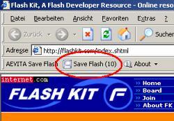 AEVITA Save Flash