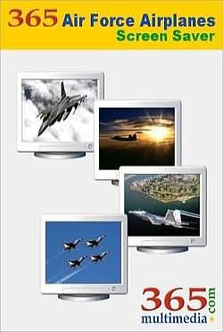 365 Air Force Airplanes ScreenSaver