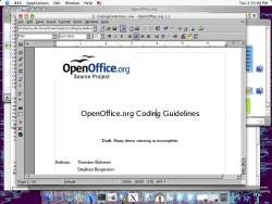 Open Office Mac