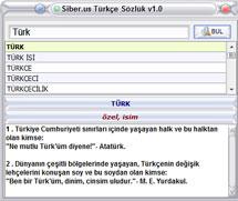 Siber us Türkçe Sözlük