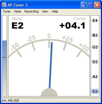 AP Tuner (Gitar Akort Programı)