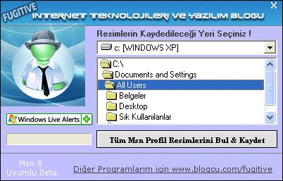 MSNden Resim Çalma-Alma