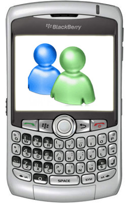 BlackBerry Windows Live Messenger