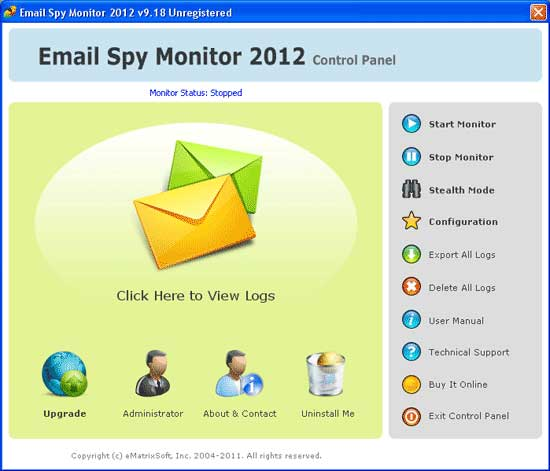 Email Spy Monitor