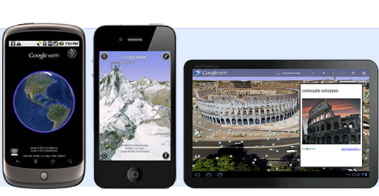 Google Earth Mobile