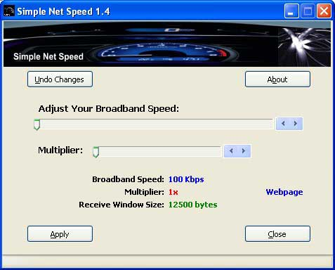 Simple Net Speed