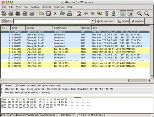 Wireshark Mac